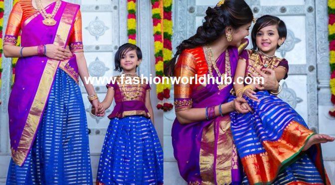 Lakshmi Manchu and Nirvana in Matching outfits!