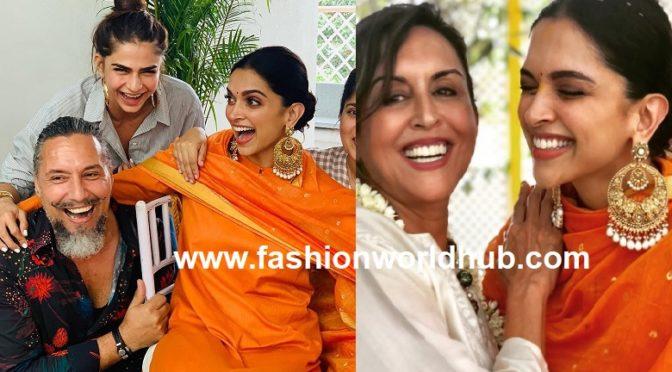 Wedding festivities begin for Deepika Padukone!