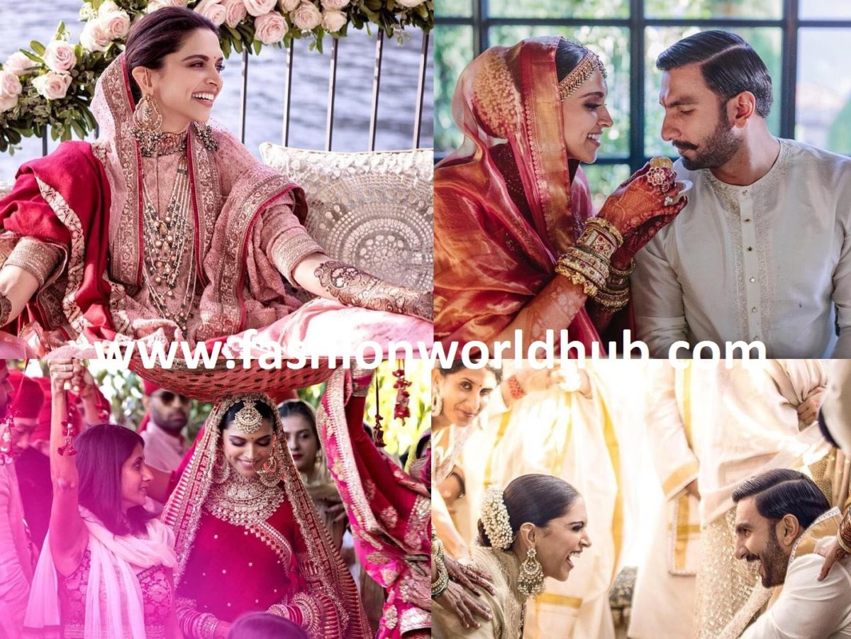 Deepika Padukone and Ranveer Singh's Mehendi ,Sangeet and ...