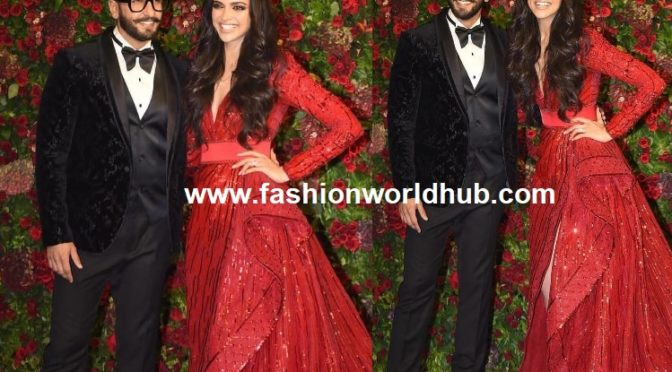 Deepika Padukone and Ranveer Singh's Wedding Reception!