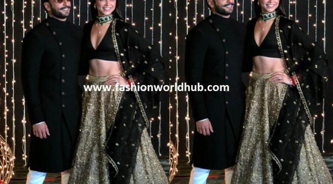 Deepika and Ranveer at Priyanka Chopra – Nick Jonas wedding reception
