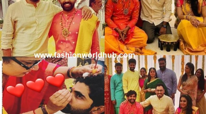 Baahubali Director SS Rajamouli Son Karthikeya and Pooja Prasad Pre wedding Celebration Photos!