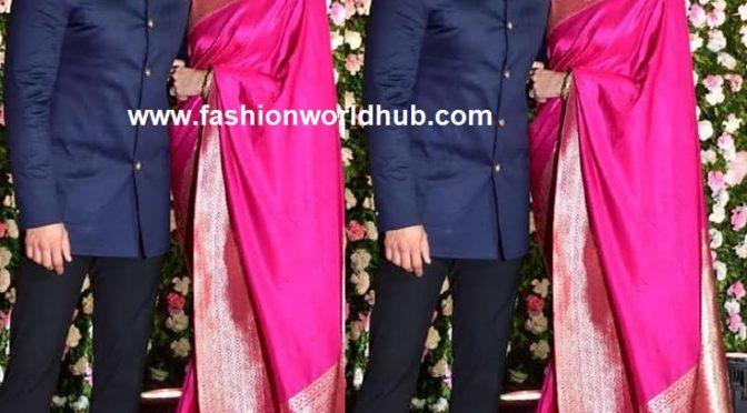 Deepika and Ranveer at Kapil Sharma- Ginni Chatrath Reception!