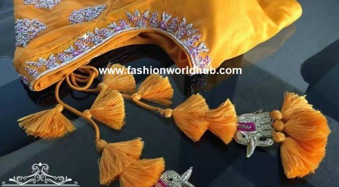 Designer blouses by deepthi balagiri!