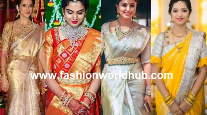 Six Trending wedding saree Colours!!