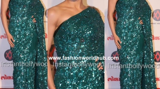 Urvashi Rautela at the Lokmat Most Stylish Awards
