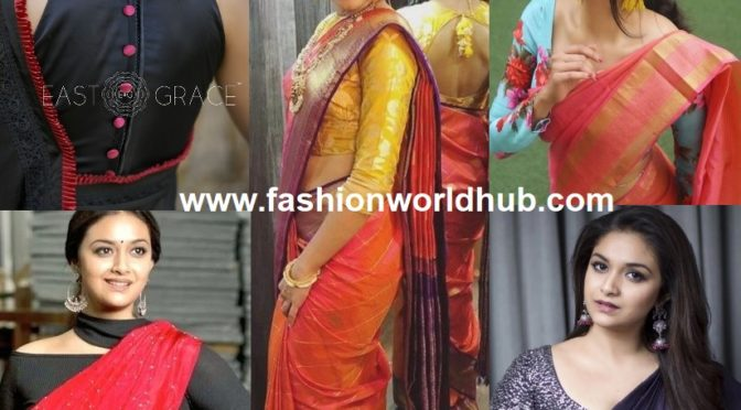 Soft silk sarees with well-designed blouse: the ultimate combination
