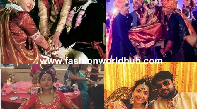 Actress Swetha basu prasad and Rohit Mittal's Mehendi and Wedding Photos!