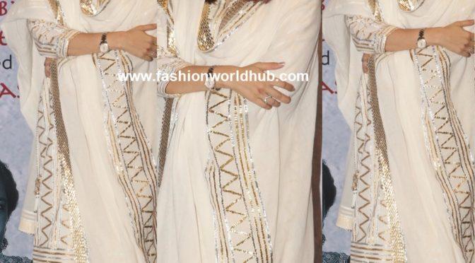 Aishwarya Rai Bachchan in Palazzo suit by  Abu Jani Sandeep Khosla!