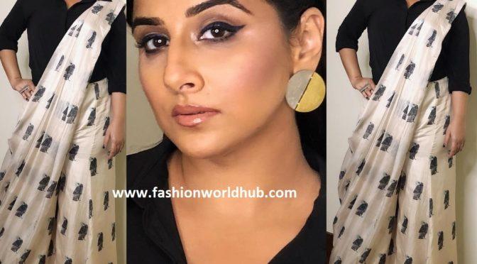 Vidya Balan in SVA by Sonam and Paras Modi Couture