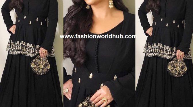 Vidya Balan in Black skirt by Bhumika Sharma