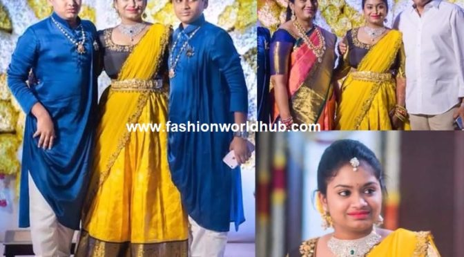 Bandla Ganesh daughter Janani Half saree function photos!
