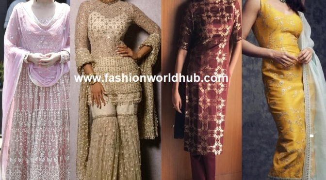 The pepped-up styles of Salwar Suits this season