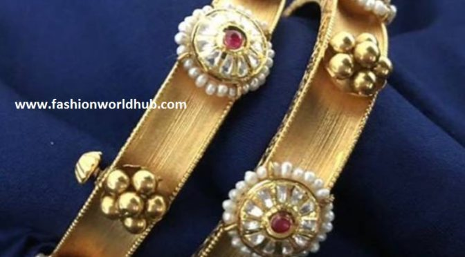 Antique Gold Bangles