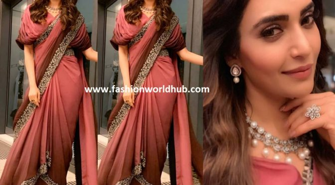 Karishma Tanna in SVA Saree