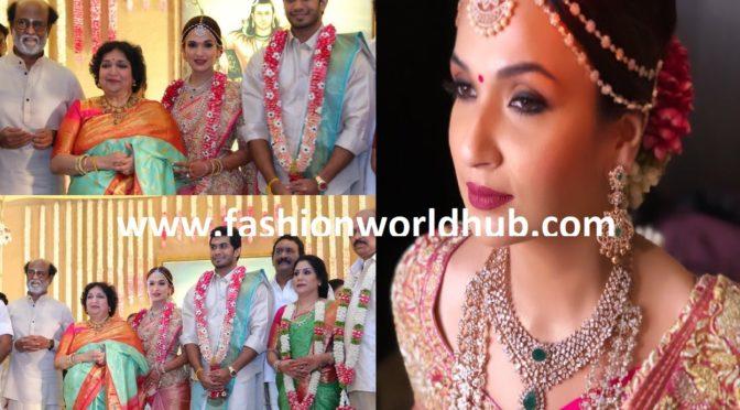 First pics of Soundarya Rajinikanth and Vishagan's Weddding!
