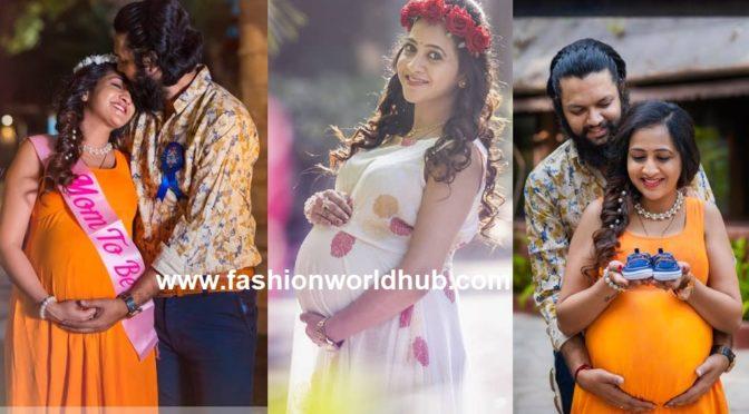 Anchor Lasya Manjunath Maternity Photo Shots!