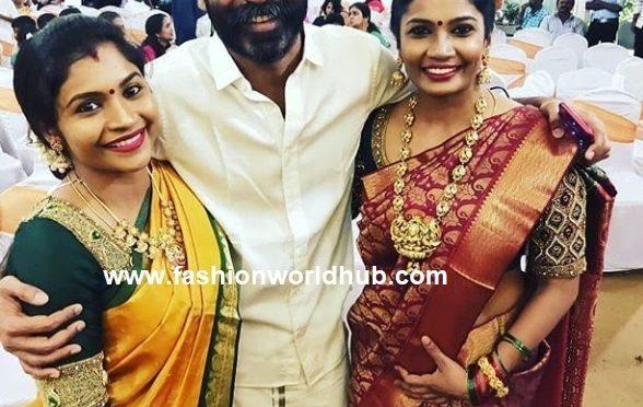 Dhanush and his sisters at Soundarya rajinikanth wedding!