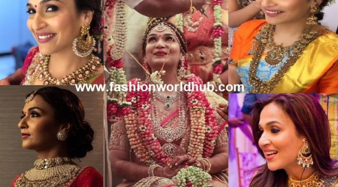 Soundarya Rajinikanth Wedding Jewellery designs!