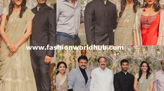 Venkatesh daughter Aashritha's wedding reception!