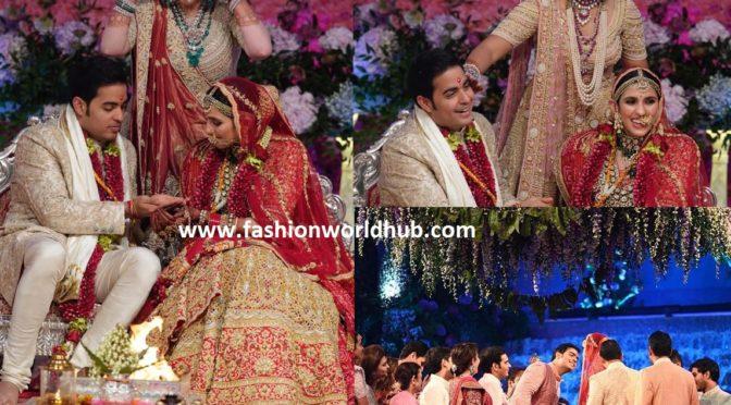 Akash Ambani and Shloka Mehta wedding Photos!