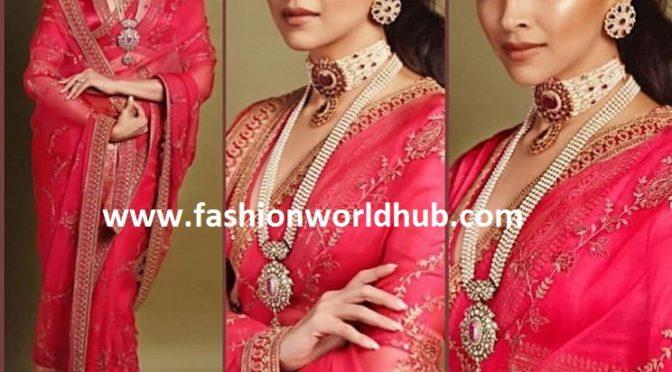 Deepika Padukone at Akash Ambani-Shloka Mehta Wedding