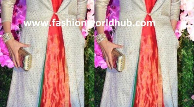Karisma kapoor at Akash ambani and SHLOKA MEHTA wedding reception!