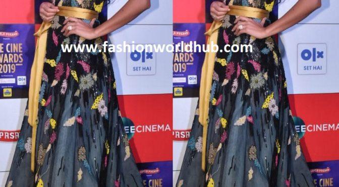 Katrina Kaif in Reem Acragown at Zee Cinema awards 2019