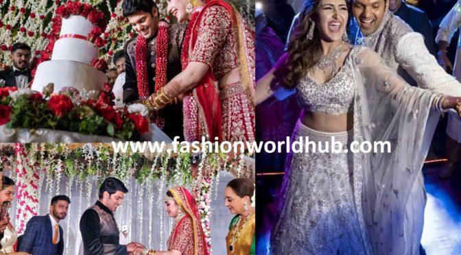 Arya and Sayyeshaa's Wedding and Sangeet Photos!