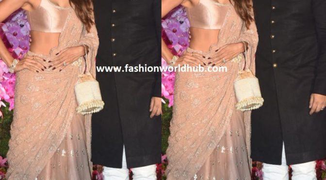 Shilpa Shetty at Akash Ambani Shloka Mehta's Wedding Reception