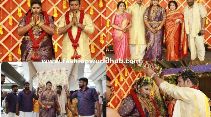Parthiban And Seeta's Daughter Abinaya's Wedding