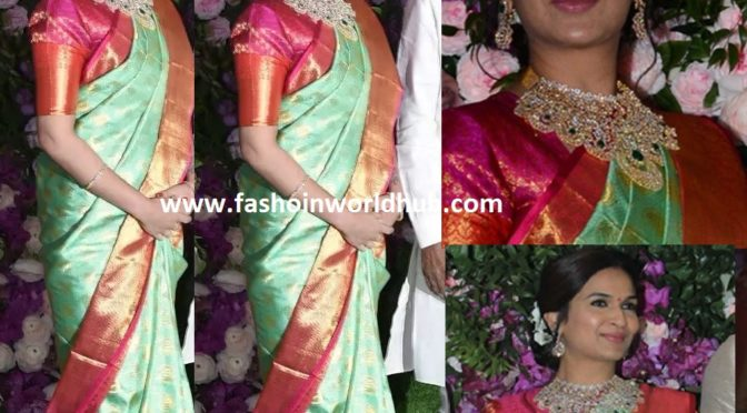 Soundarya Rajinikanth at Akash Ambani-Shloka Mehta Wedding