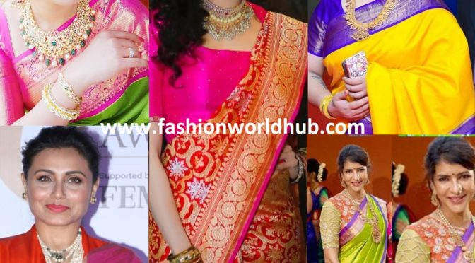 Top 7 Types Of Silk Sarees that Every Woman Must Have In Her Wardrobe!