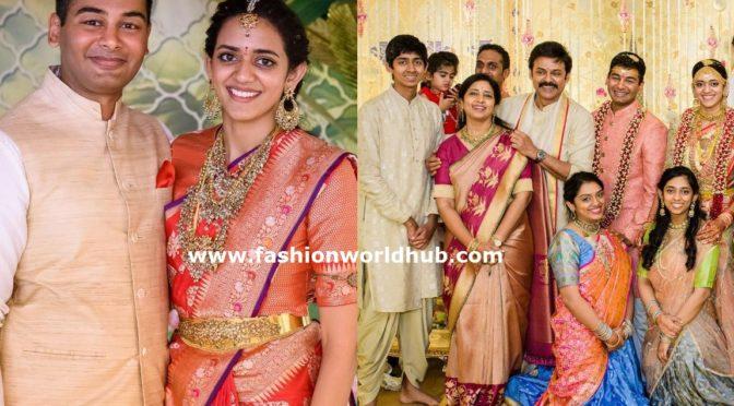 Actor venkatesh daughter wedding photos!! ( Few more)
