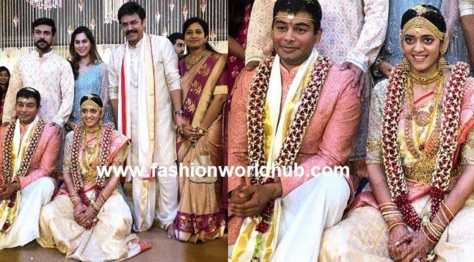 Actor Venkatesh Daggubati's Daughter Aashritha's Wedding!
