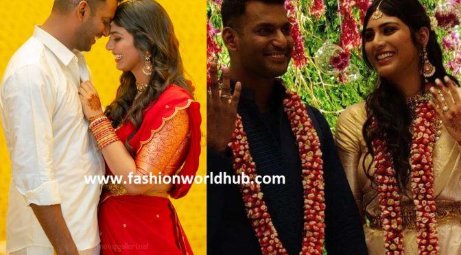 Vishal and Anisha Alla Reddy Engagement