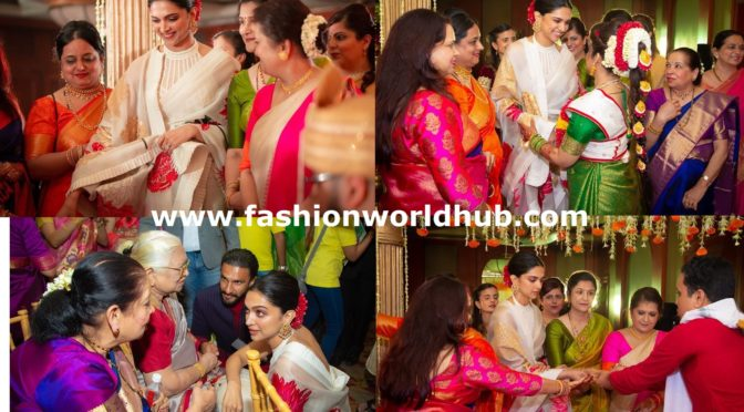 Deepika Padukone at her cousin's wedding