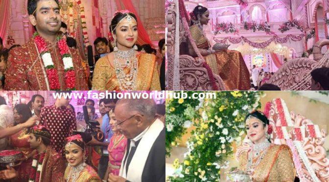 Ramoji Rao Grand daughter Keerthi Sohana Wedding!