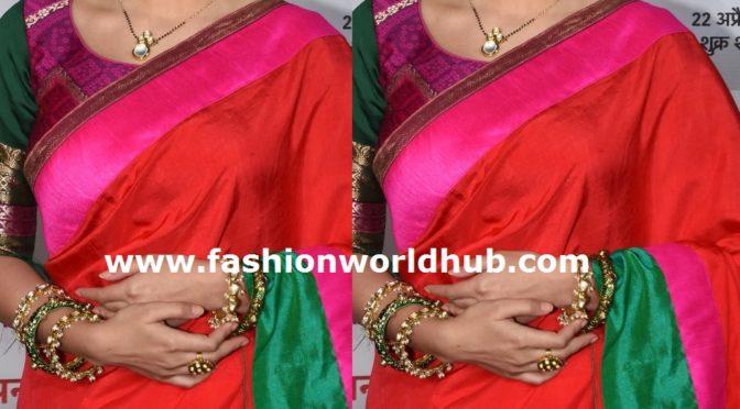 Shrenu Parikh Traditional look!