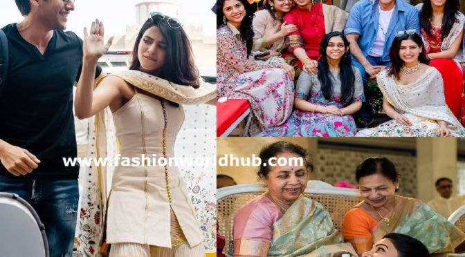 Unseen photos of Samantha Akkineni at Aashritha Daggubati's Wedding