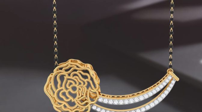 Diamond & Gold Mangalsutra designs from Papilior ( Shop Online)