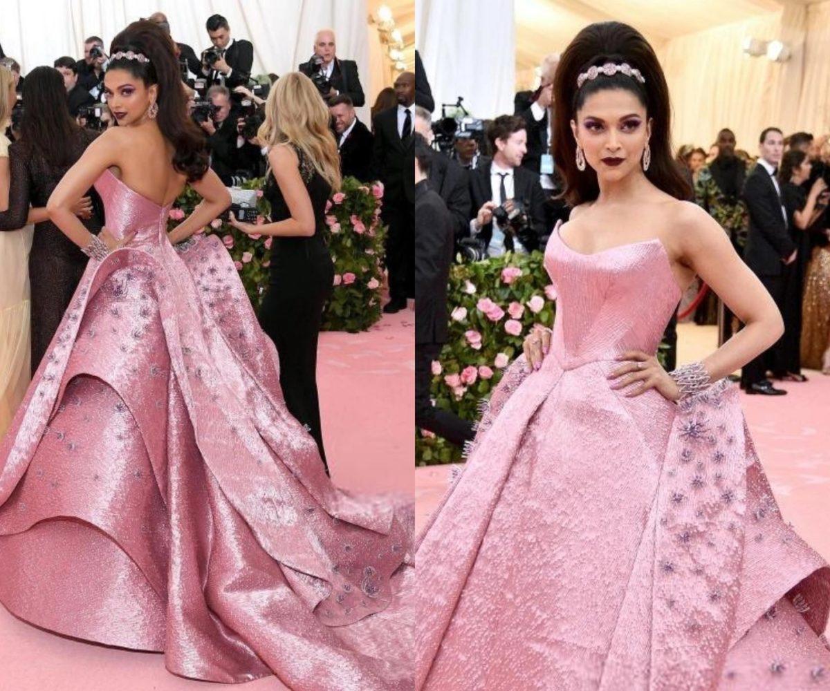 Deepika Padukone at the Met Gala 2019 | Fashionworldhub