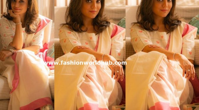 Nisha Aggarwal traditional look!