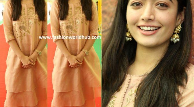 Rashmika Mandanna at Sarileru Neekevvaru Movie Launch!