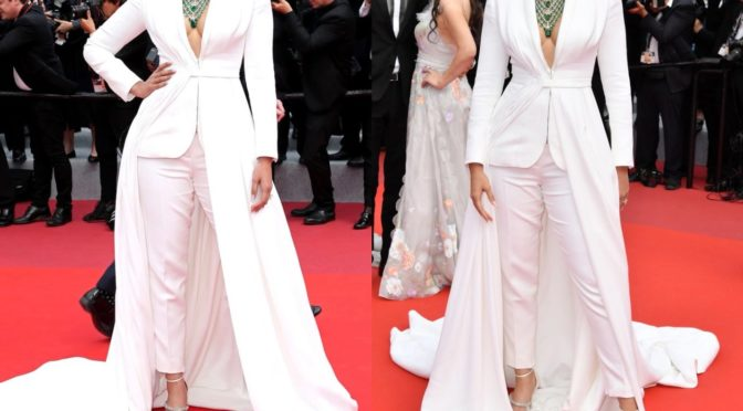 Sonam Kapoor in Ralph & Russo at Cannes 2019!