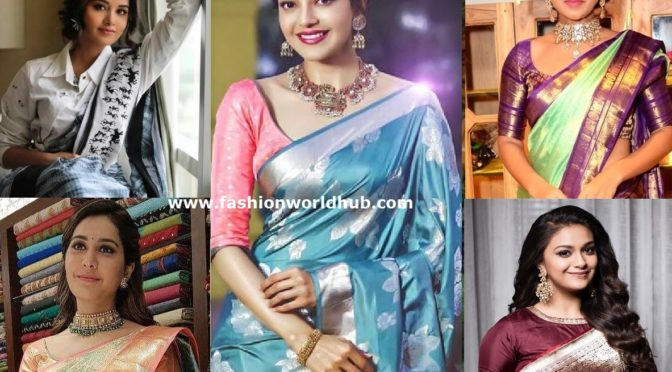 Six Unique Saree Colors You may need to try this year!