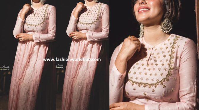 Poorna in Tritiya Designs