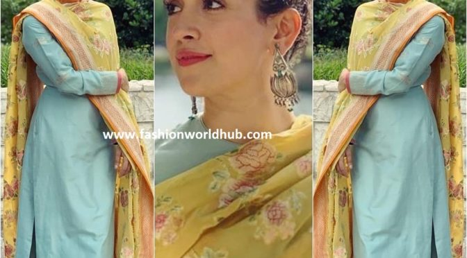 Sanya Malhotra in Ekaya banaras