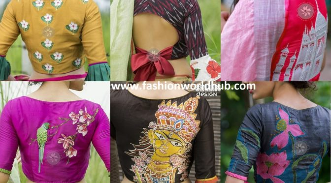 Unique and Stylish Ready-Made Blouse Designs by Sayanti Ghosh Designer Studio!