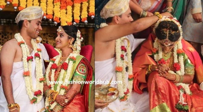 TV Actress Meghana Lokesh Wedding photos!!